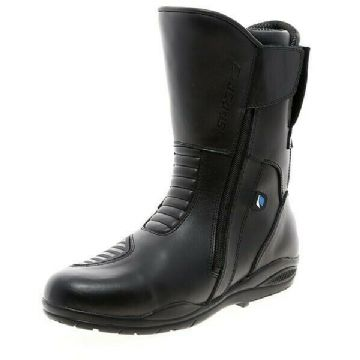 Spada Hurricane 2 Waterproof Motorcycle Motorbike Touring Boots - Black - EU47